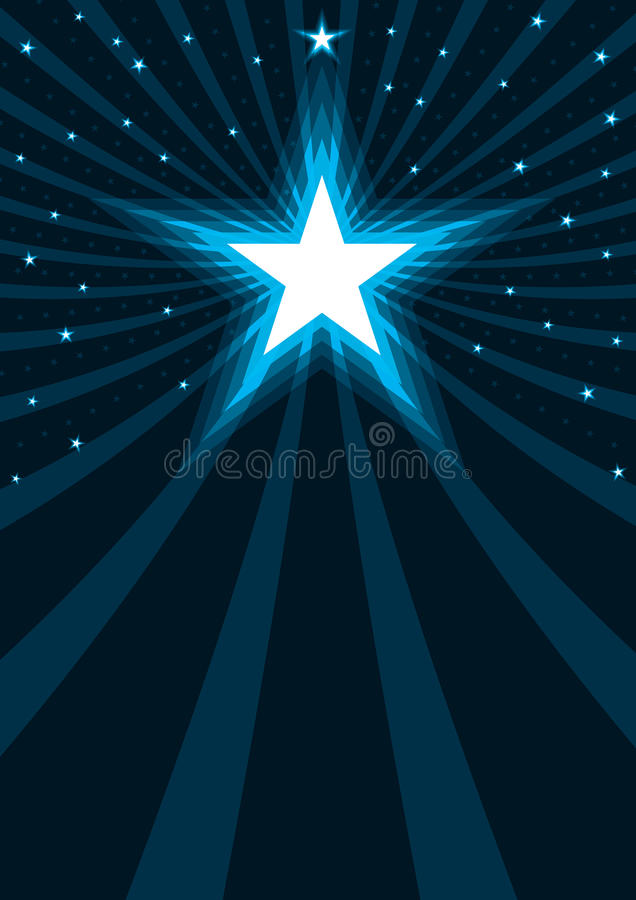 Abstract Stars Power_eps vector illustration