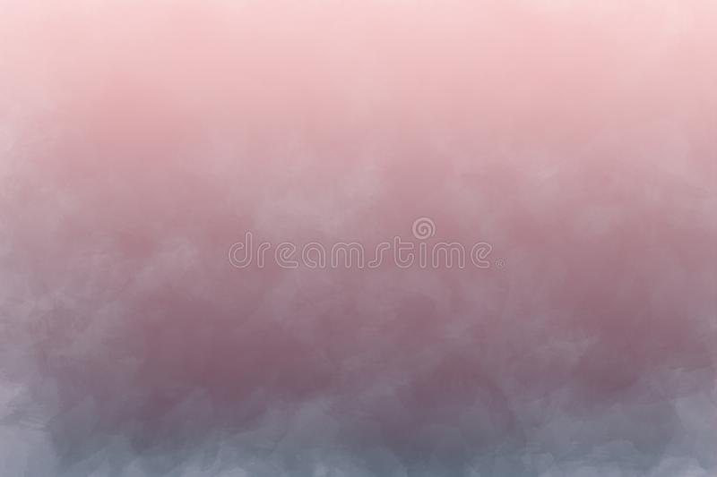Abstract steam background in watercolors. stock image