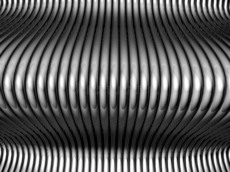 Abstract steel silver tube background royalty free stock photos