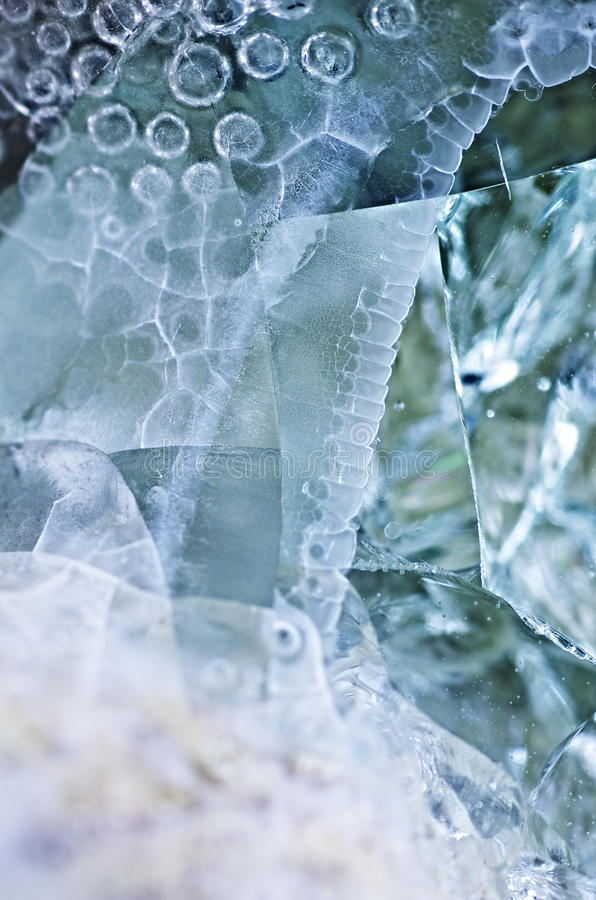 Abstract Still Life. Macro abstract still life with glass stock photos