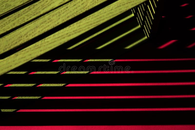 Abstract still life Geometry of the shadow.  stock photography