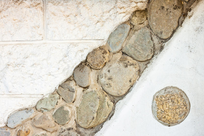 Abstract stone wall background royalty free stock photography