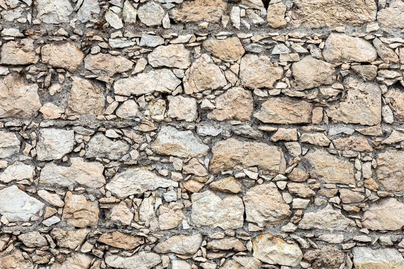 Stone wall texture background royalty free stock photography