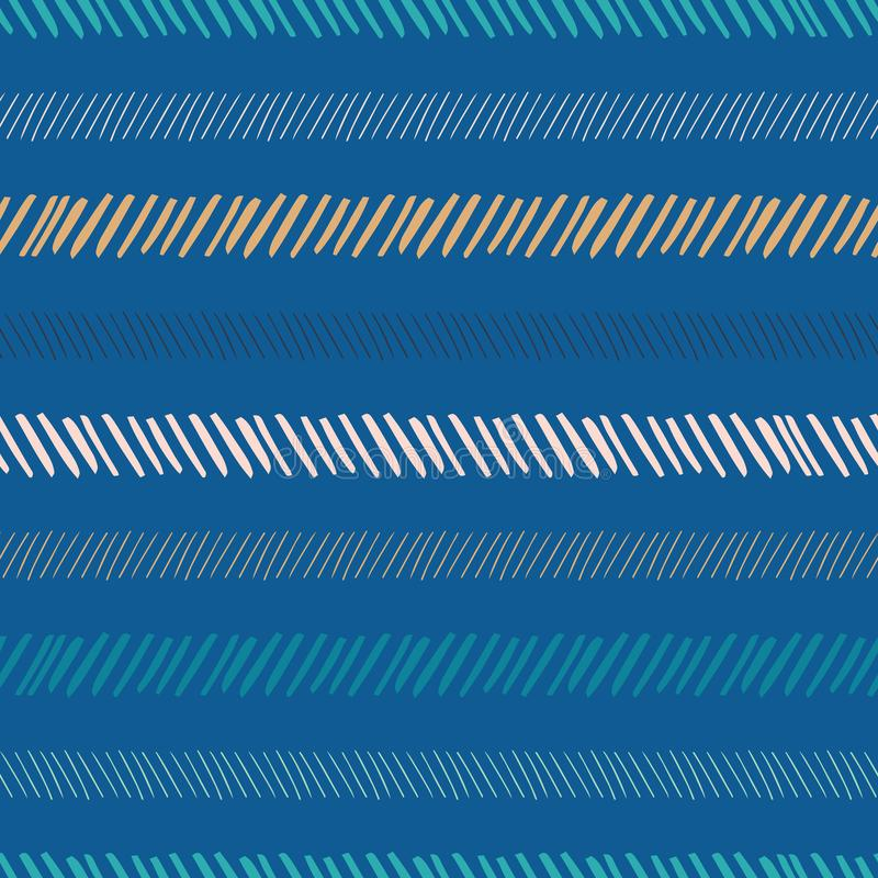 Abstract stripe seamless pattern background royalty free illustration