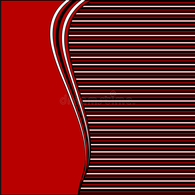 Abstract striped background vector illustration