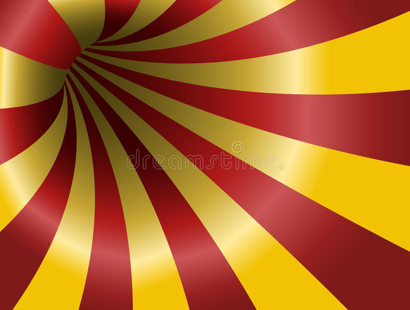 Abstract striped hole vector illustration