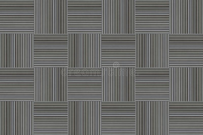 Abstract striped monochrome gray background pattern f cells vertical horizontal lines effect royalty free illustration