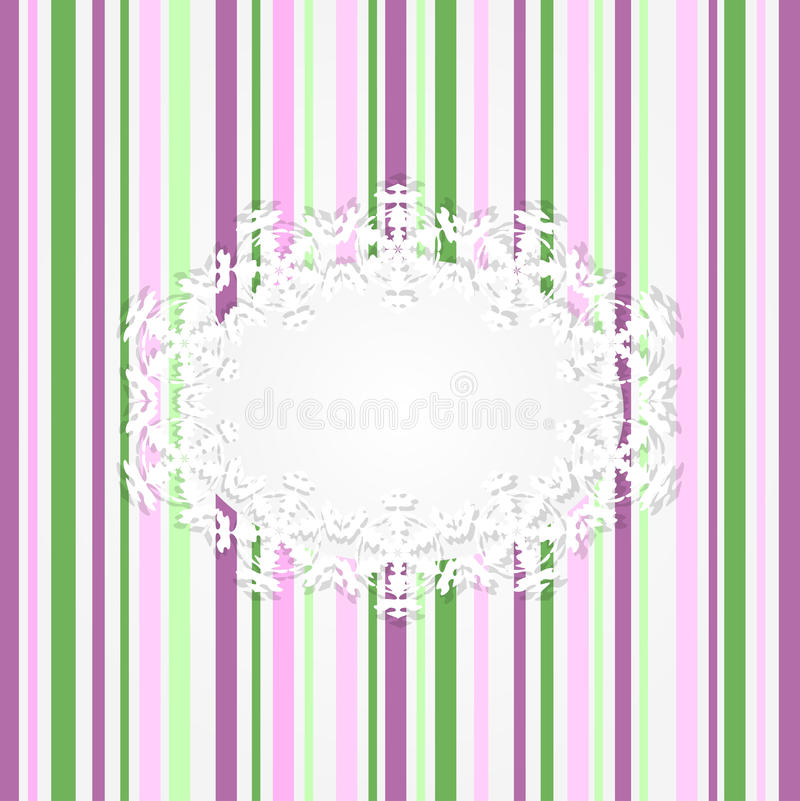 Download Abstract striped pink card stock vector. Image of green - 21831997