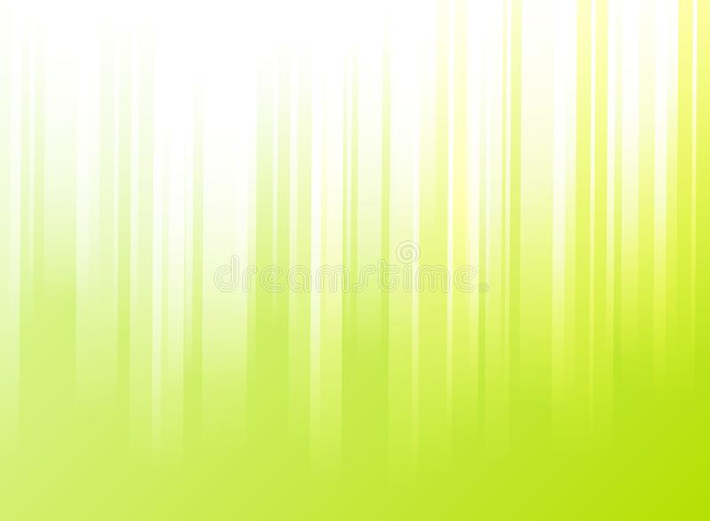 Abstract striped vertical rectangle overlay pattern background a. Nd texture on green color background. Vector illustration royalty free illustration
