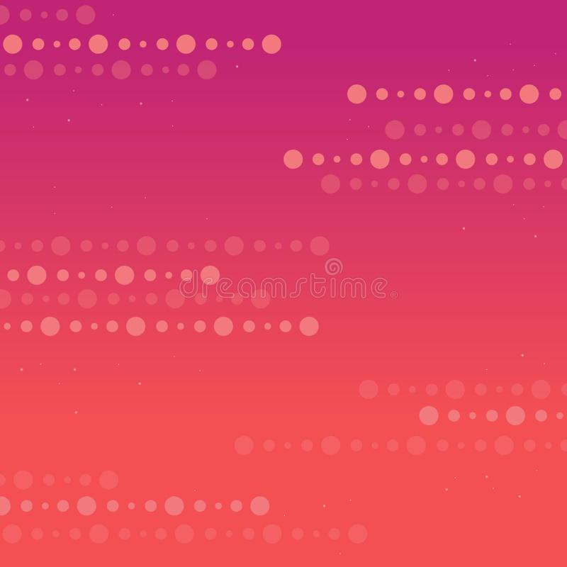 Abstract stripes dot with colorful vector illustration