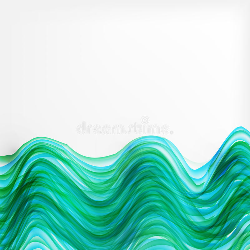 Abstract stripes glowing background vector illustration