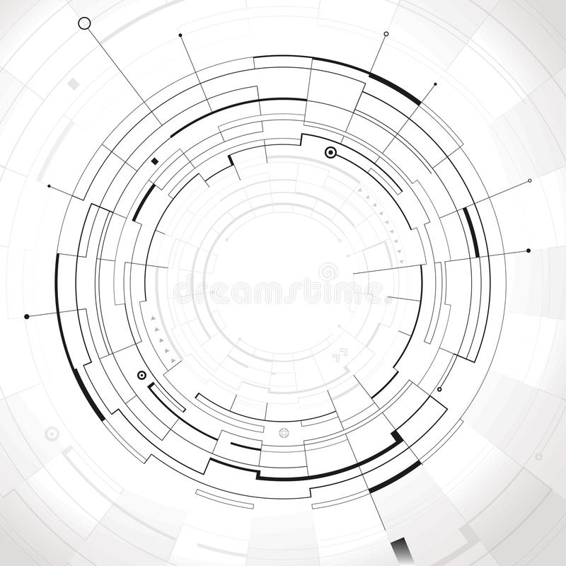 Abstract Structure stock image