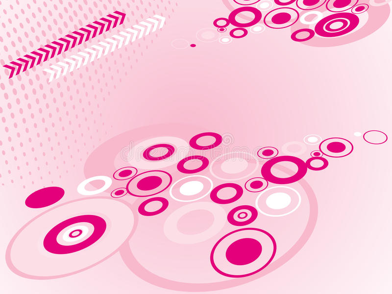Abstract stylish circles background. A abstract stylish circles background royalty free illustration