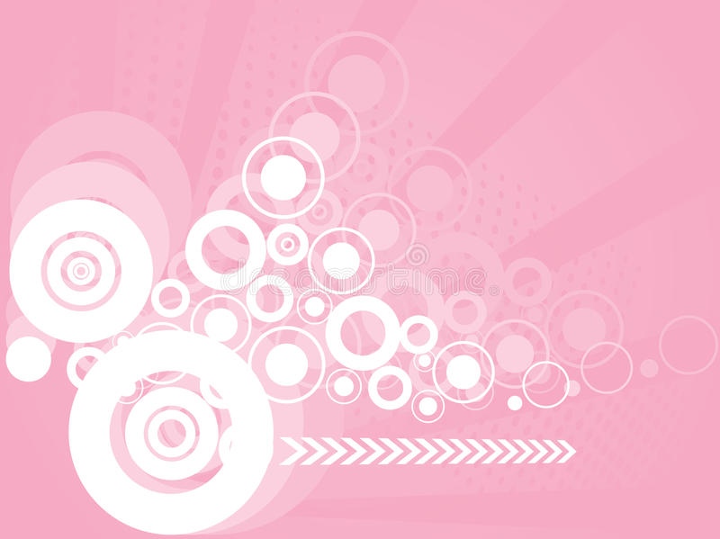 Abstract stylish circles background. A abstract stylish circles background stock illustration