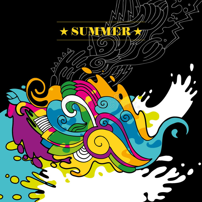 Download Abstract Summer Background. Stock Vector - Image: 19913413