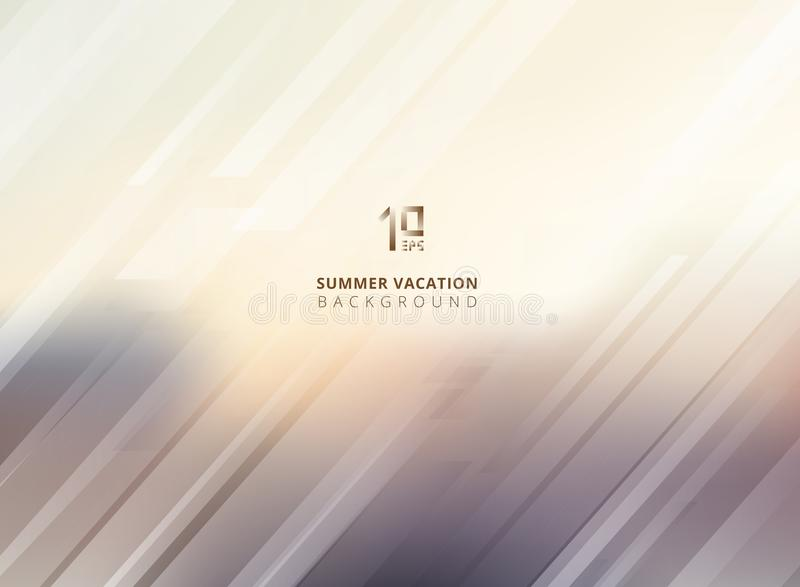 Abstract summer blurred background with striped lines diagonally. Vector illustration vector illustration
