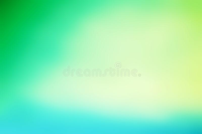 Abstract summer concept blur background in vintage filtered ton. Es with gradient royalty free stock images
