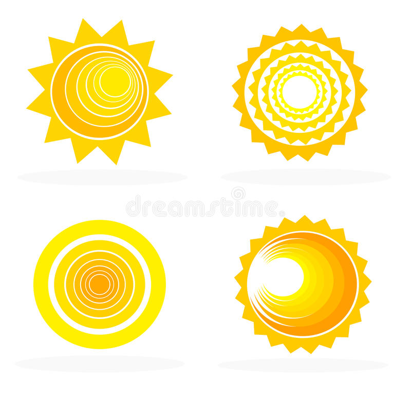 Suns Royalty Free Stock Image
