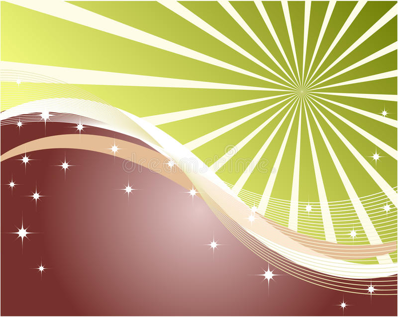 Abstract sun rays background royalty free illustration