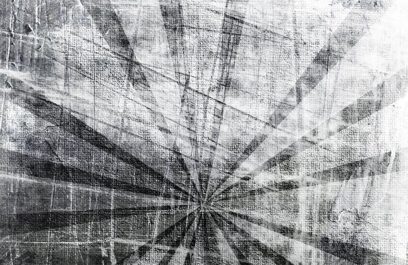 Abstract sun's rays royalty free illustration