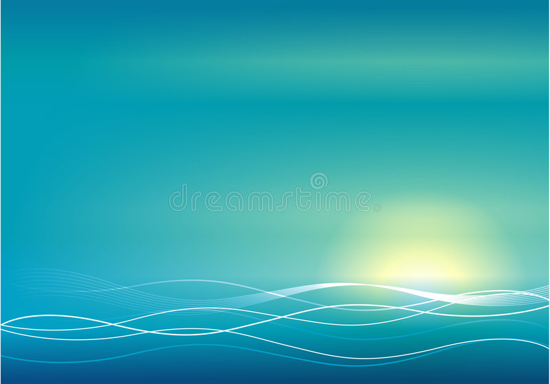 Abstract sunset stock photos