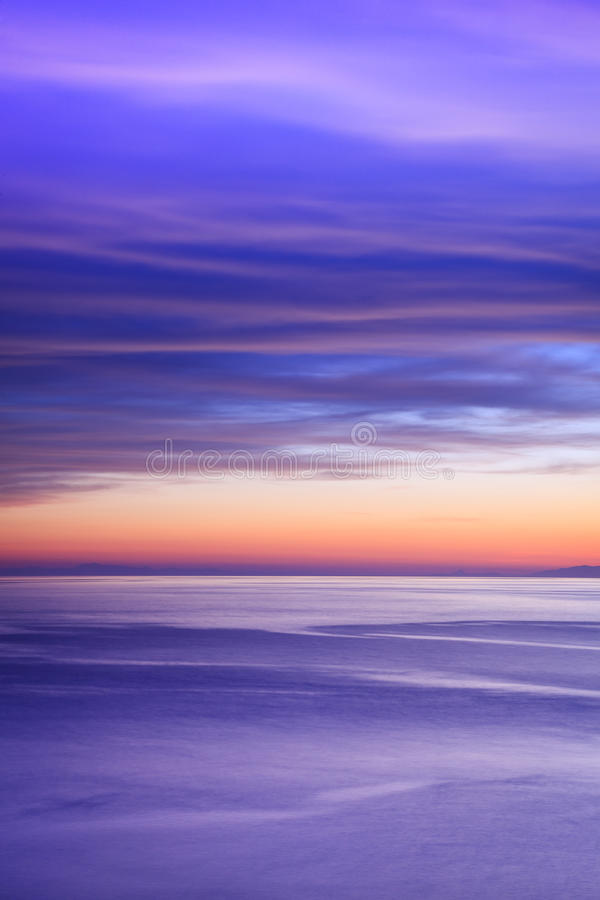 Download Abstract sunset stock photo. Image of cloudscape, sundown - 9495392