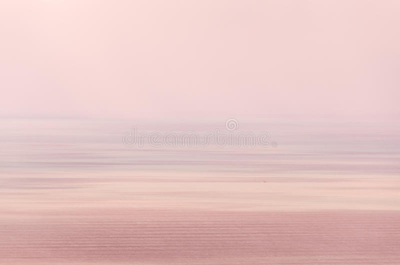 Abstract sunset. Motion blur image stock photography