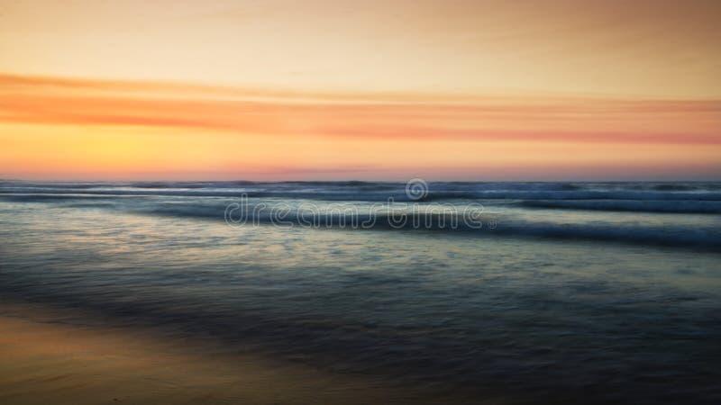 Abstract sunset stock photos