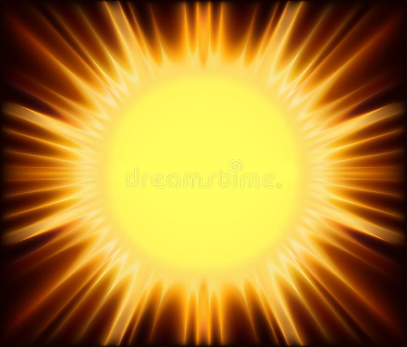 Abstract Sunshine Royalty Free Stock Image