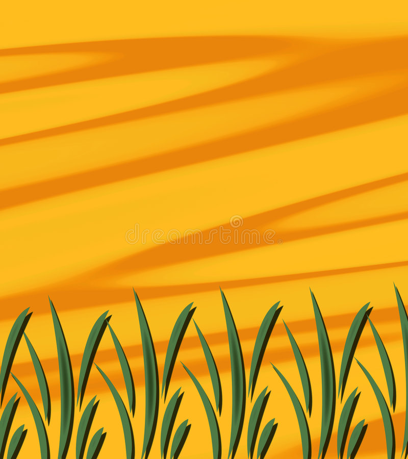 Abstract Sunshine Grass Royalty Free Stock Images