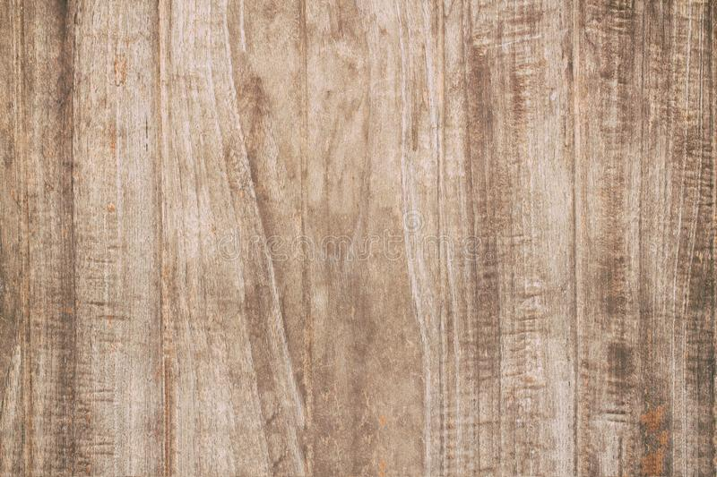 Abstract surface wood table texture background. Close up of dark. Rustic wall made of old wood table planks texture. Rustic brown wood table texture background stock image