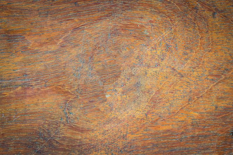 Abstract surface wood table texture background. Close up of dark. Rustic wall made of old wood table planks texture. Rustic brown wood table texture background stock photography