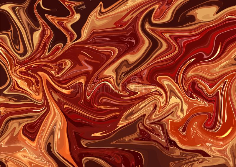 Abstract surreal acrylic fire flames wallpaper template vector illustration