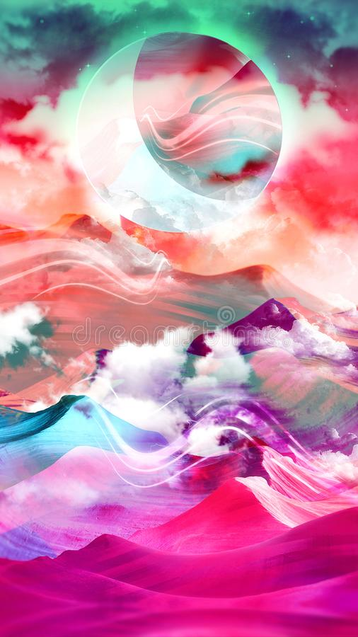 Free Abstract Surreal Art - Another World - 8K Resolution Royalty Free Stock Photo - 103558605