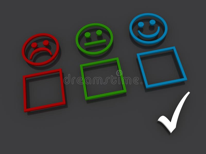 Abstract Survey Boxes Stock Images