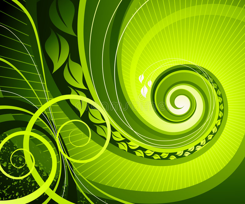 Download Abstract swirl. stock vector. Image of digital, concept - 4741635