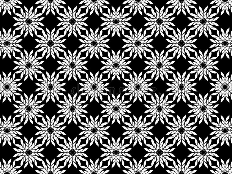 Abstract Swirl Flower Background royalty free stock photo
