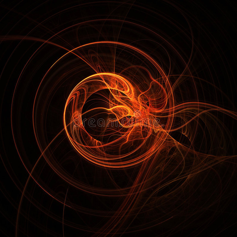 Abstract swirling background royalty free illustration