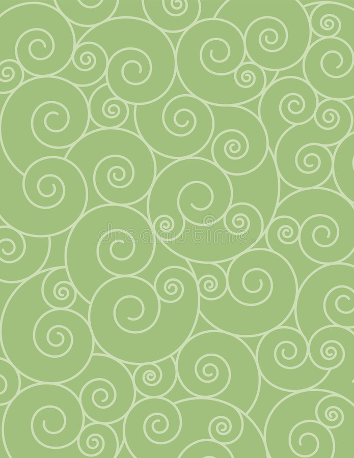 Abstract Swirly Background royalty free illustration