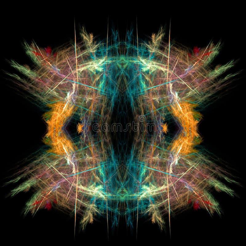 Download Abstract  Symmetrical Fractal Background Stock Illustration - Image: 11105237