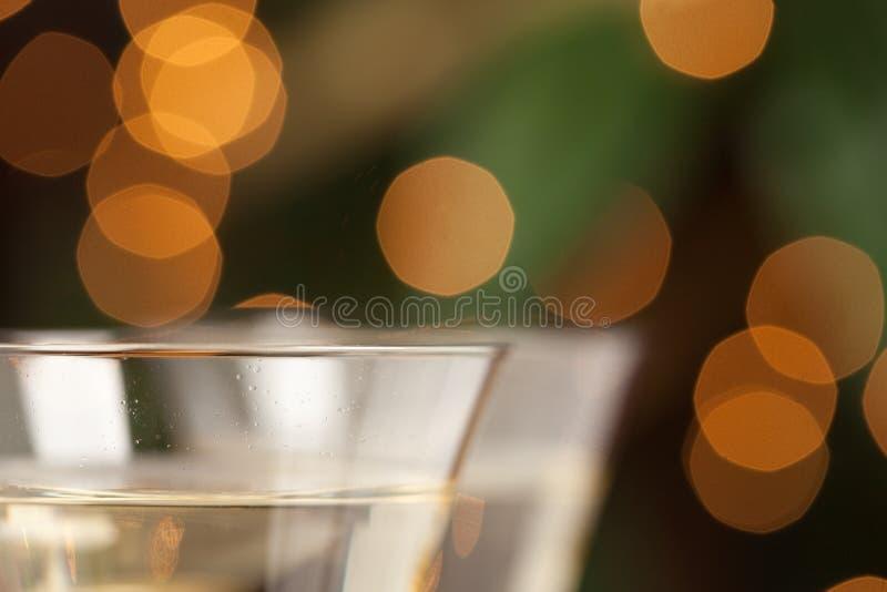 abstract szampańskich szkła fotografia royalty free