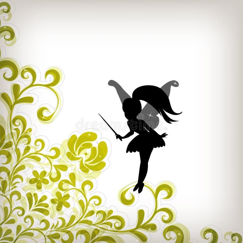 abstract tła czarodziejki miękką część ilustracji