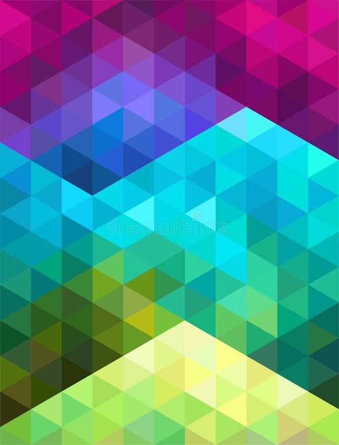 abstract tła kolorowej kolorystyki łatwej kartoteki geometrycznego płatowatego manipulaci wektor również zwrócić corel ilustracji ilustracji
