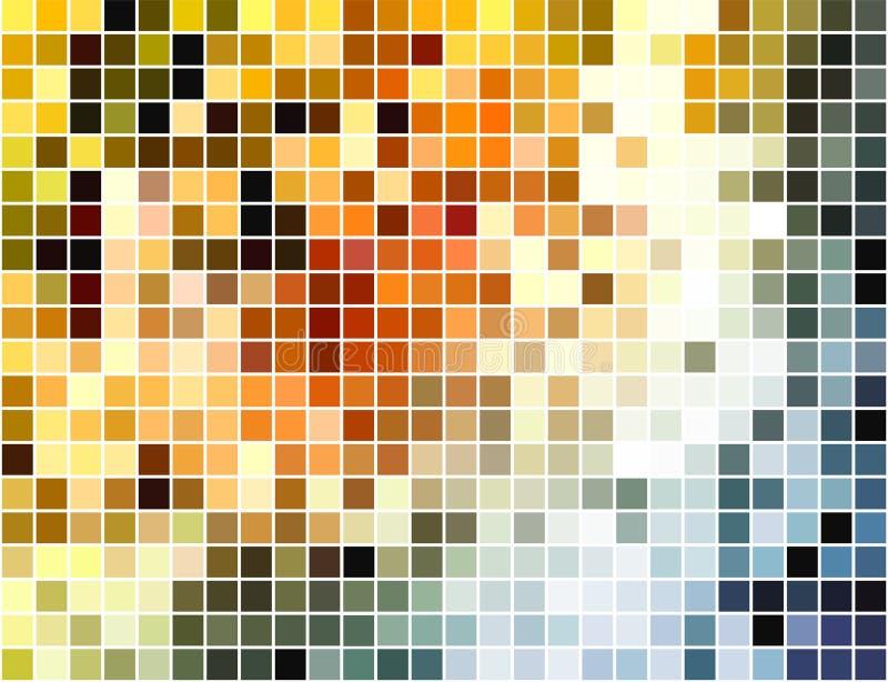 abstract tła mozaiki piksla kwadrat ilustracji
