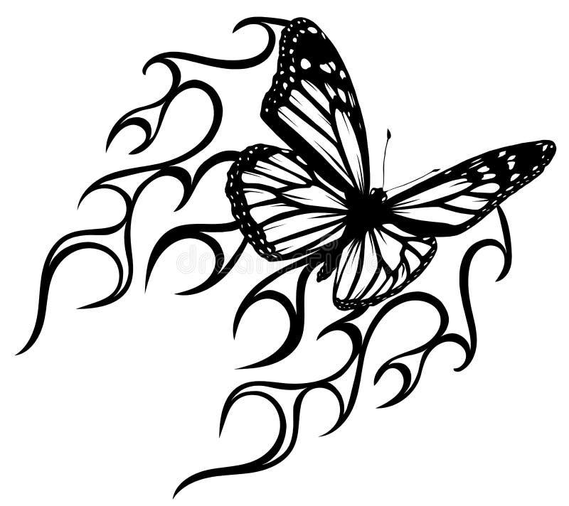 Butterfly Stencil Stock Illustrations – 1,312 Butterfly Stencil ...