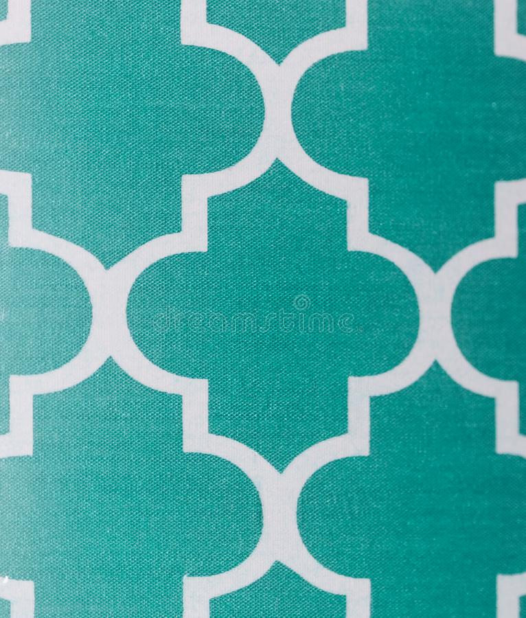 Abstract teal and white patern. Abstract pattern with textured teal and smooth white designs, great background stock image