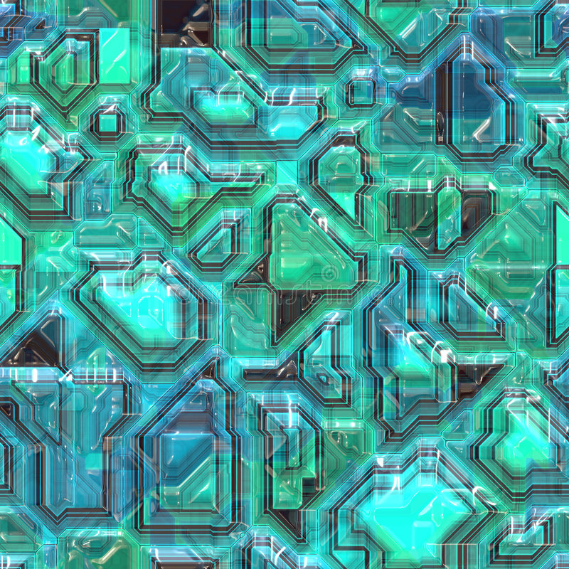 Abstract Tech Background Stock Image