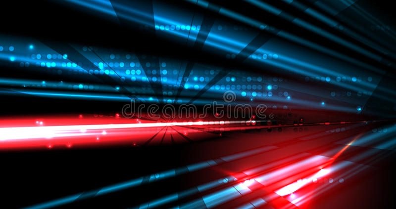 Abstract tech background. Futuristic technology interface. Vector illustration with many geometric shape. Abstract tech background. Futuristic interface. Vector stock illustration