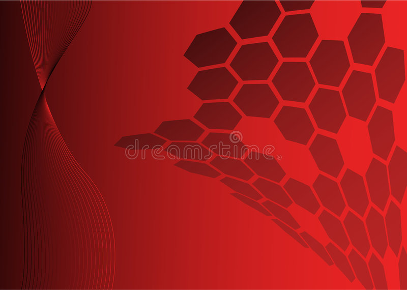 Abstract technical background stock illustration