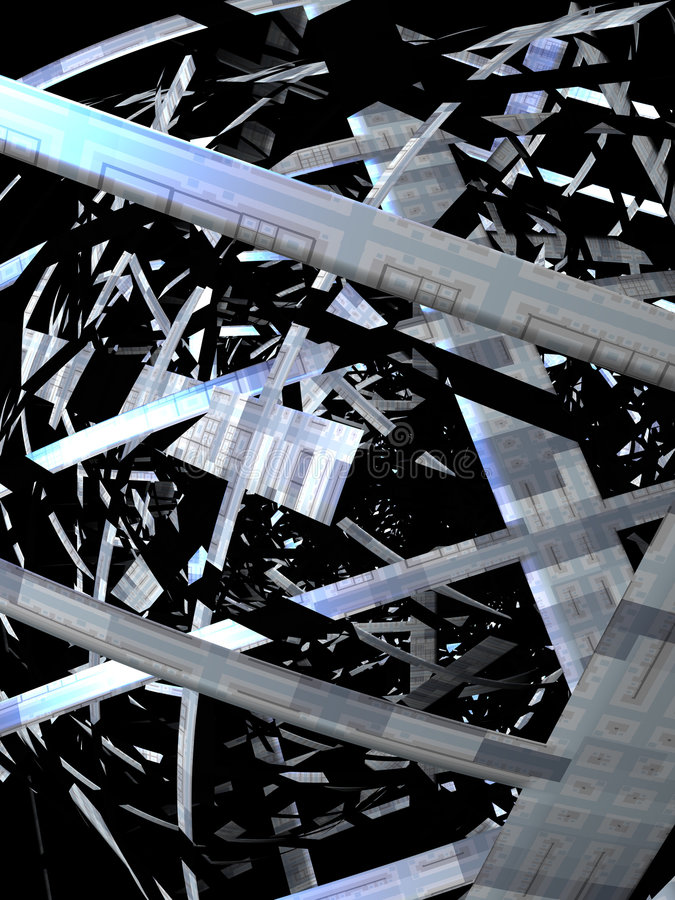 Download Abstract techno background stock illustration. Image of blur - 2824492
